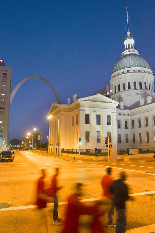 St Louis Art Print featuring the photograph Late To The Game by Garry McMichael
