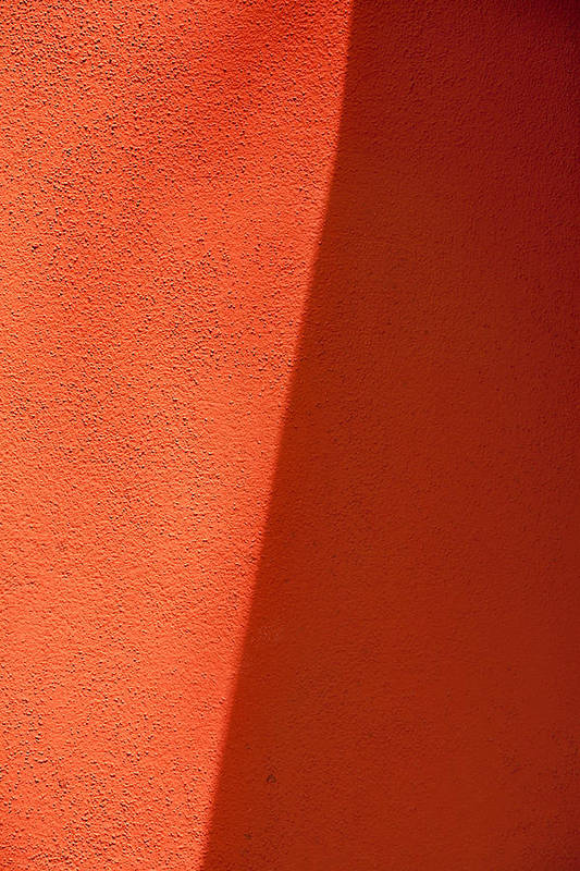 Abstract Print featuring the photograph Two Shades Of Shade by Peter Tellone