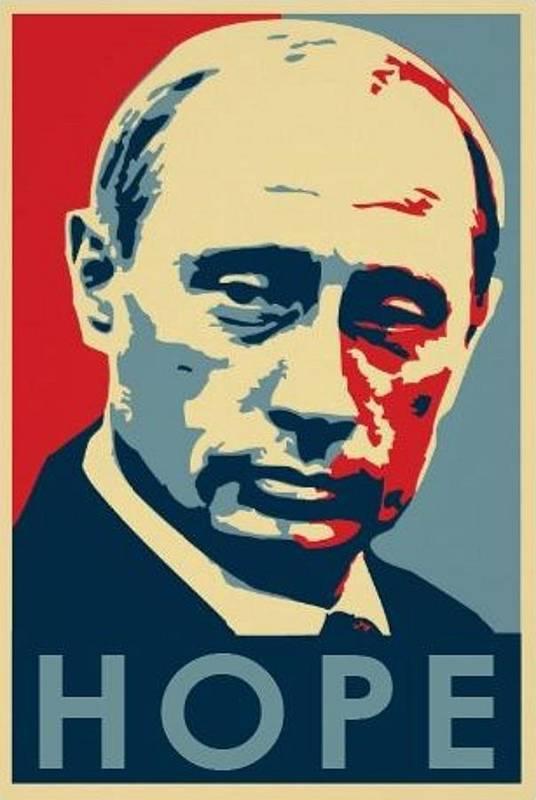 Vladimir Putin HOPE by Krystal