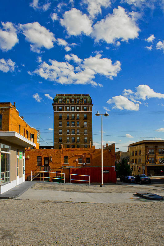 Butte Montana Art Print featuring the photograph Blue Sky by Donovan Conway