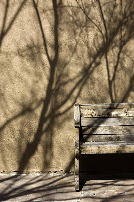 Photo Art Print featuring the photograph Old Bench by Carmo Correia
