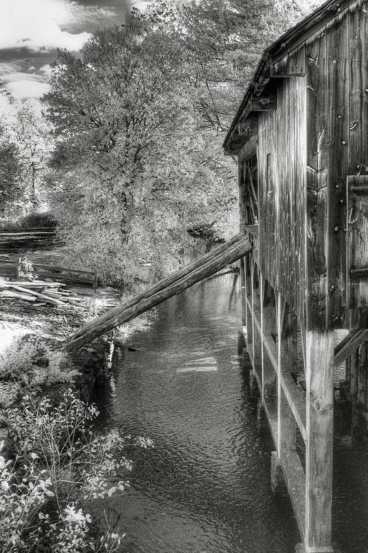 Old Mill Art Print featuring the photograph Old Grist Mill by Joann Vitali