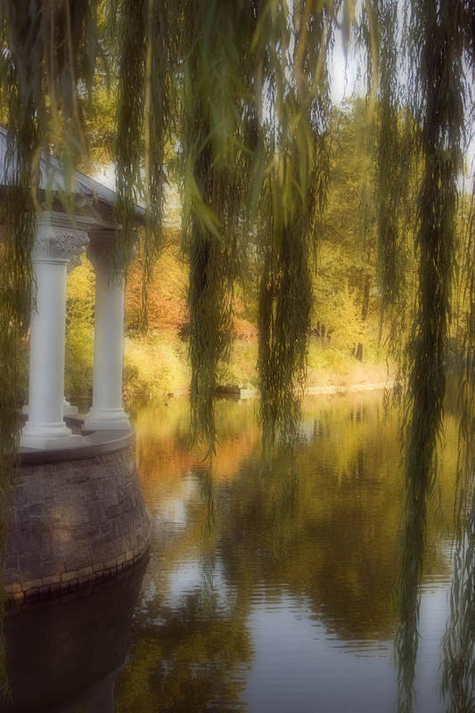 Water Art Print featuring the photograph The Gazebo by Ayesha Lakes