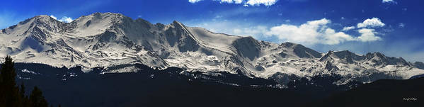 Mt. Massive Art Print featuring the photograph Massive View by Darryl Gallegos