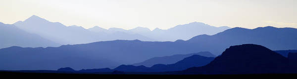 Colorado Photographs Art Print featuring the photograph Mountain Silhouettes by Gary Benson