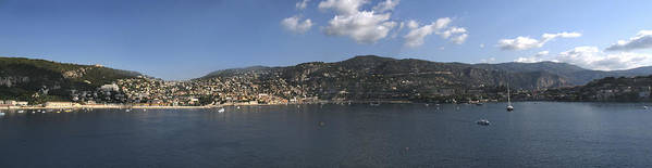 Villefranche Art Print featuring the photograph Villefranche by Terence Davis
