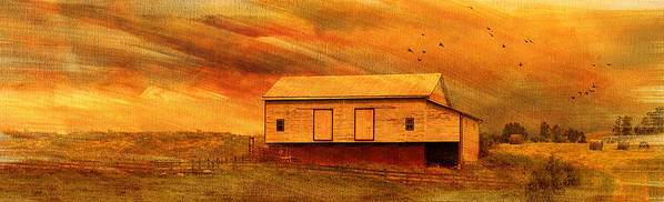 Sunset Art Print featuring the photograph As The Sun Sets by Kathy Jennings