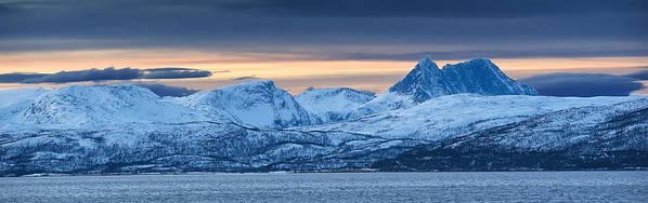 Norway Art Print featuring the photograph Norwegian Coast by Wade Aiken