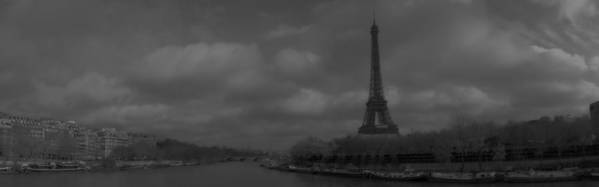 Paris Art Print featuring the photograph La Seine Dh 4 by Wessel Woortman