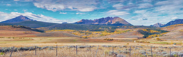 Mountain Art Print featuring the photograph Gore Range Ranch by Brian Kerls