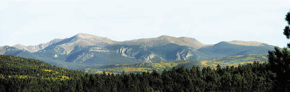 Mountain Art Print featuring the photograph Wheeler From Bobcat Pass by Kenny King