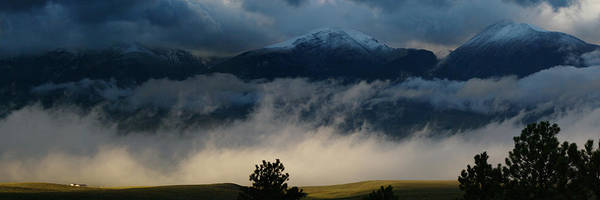 Colorado Photographs Art Print featuring the photograph Summer Snow by Gary Benson