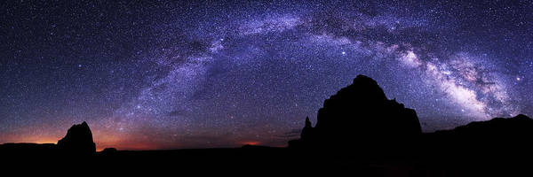Celestial Arch Art Print featuring the photograph Celestial Arch by Chad Dutson