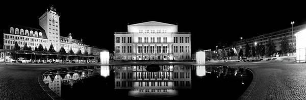 Leipzig Art Print featuring the photograph Leipzig Panorama by Marc Huebner