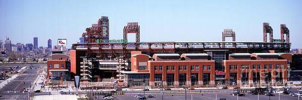 Citizens Bank Park Art Print featuring the photograph Montreal Expos V Philadelphia Phillies by Jerry Driendl