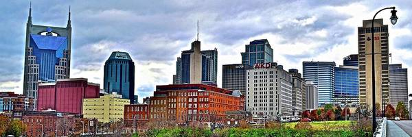 Nashville Art Print featuring the photograph Lengthy View Of Nashville by Frozen in Time Fine Art Photography
