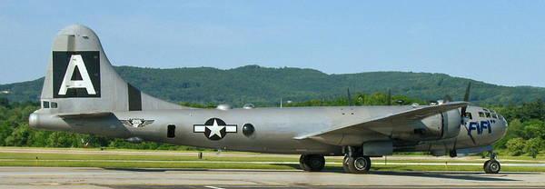 B-29 Bomber Art Print featuring the photograph World War II B-29 Superfortress Bomber Fifi by Angelo Rolt