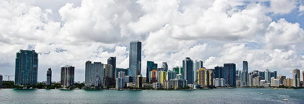 Hdr Art Print featuring the pyrography Miami by Nelson Rodriguez