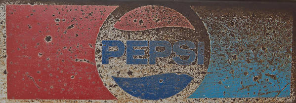 Pepsi Art Print featuring the photograph A Little Tied But Still A Classic by Heidi Smith