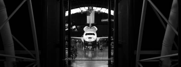 Space Art Print featuring the photograph Space Shuttle Enterprise by Chris Bhulai