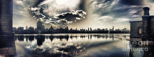 New York Central Park Art Print featuring the photograph Turbulent Afternoon by Nishanth Gopinathan