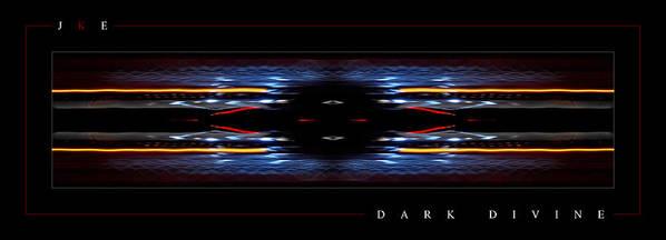 Abstract Art Print featuring the photograph Dark Divine by Jonathan Ellis Keys