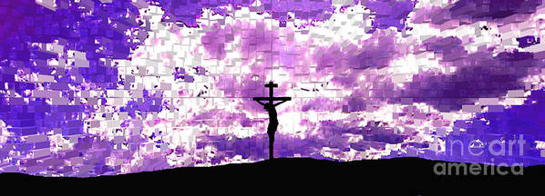 Jesus Crucifiction Art Print featuring the photograph Father Forgive Them by Ed Moore
