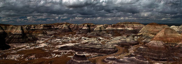 Cliffs Art Print featuring the photograph Heavy Sky by Murray Bloom
