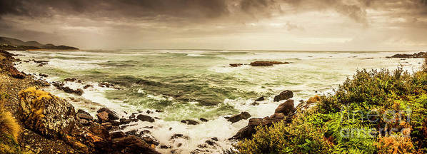 Wide Art Print featuring the photograph Tidal Vastness by Jorgo Photography - Wall Art Gallery