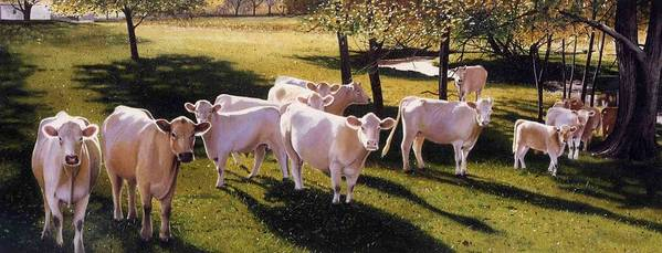 Landscape Art Print featuring the painting Family Portrait by Denny Bond