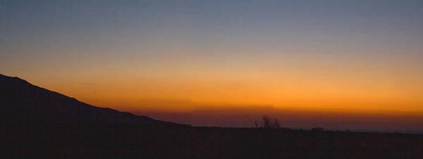 Howie Idaho; Sunrise; Summer; Orange Sky; Horizontal Art Print featuring the photograph Howie Idaho Sunrise by John Higby