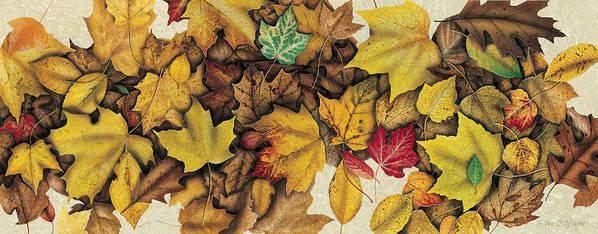 Jon Q Wright Art Print featuring the painting Autumn Splendor by JQ Licensing
