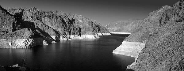 Nevada Print featuring the photograph Hoover Dam Reservoir - Architecture On A Grand Scale by Christine Till