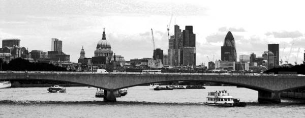London Art Print featuring the photograph London Panorama by M Bleichner