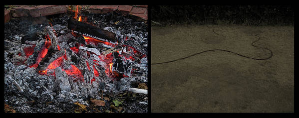 Hell Art Print featuring the photograph Hell by James W Johnson