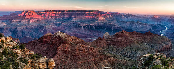Landscape Art Print featuring the photograph Navajo Point Sunrise by Steven Hirsch