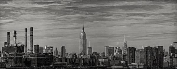 Nyc Skyline Art Print featuring the photograph New York Skyline by Robert Ullmann