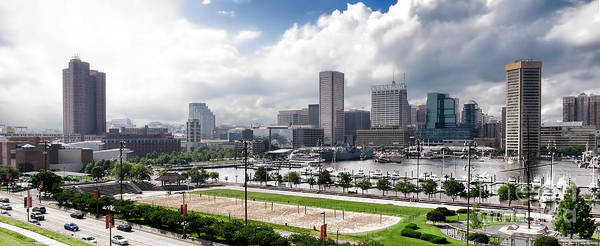 Baltimore Art Print featuring the photograph Baltimore Maryland by Olivier Le Queinec