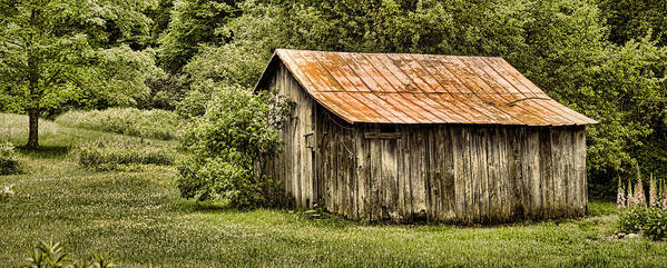 Barn Art Print featuring the photograph Rustic by Heather Applegate