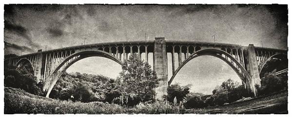 Pennsylvania Art Print featuring the photograph Westinghouse Bridge Pano by Robert Fawcett