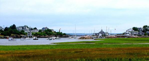 Maine Art Print featuring the photograph Biddleford Pool In Maine by Ed Golden
