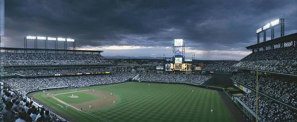North America Art Print featuring the photograph Coors Field, Denver, Colorado by Michael S. Lewis
