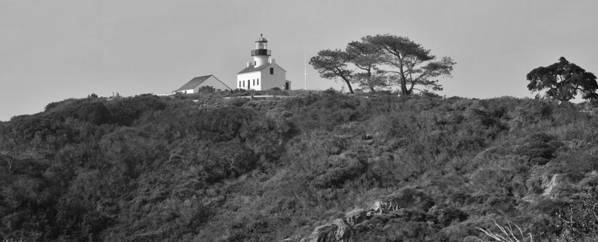 Lighthouse Art Print featuring the photograph Historical Lighthouse- Point Loma by See My Photos