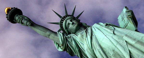 New York Art Print featuring the photograph Liberty 2 by William Todd