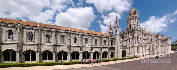 Europe Art Print featuring the photograph Monastery Of The Hieronymites Lisbon 5 by Rudi Prott