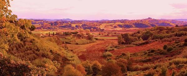 Landscape Art Print featuring the photograph Tuscany by Slawek Aniol
