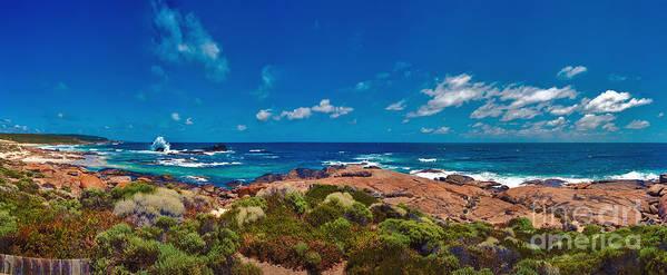 Boodjidup Beach Art Print featuring the photograph Western Australia Beach Panorama by David Zanzinger
