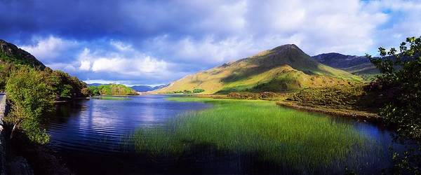 Co Galway Art Print featuring the photograph Kylemore Lake, Co Galway, Ireland Lake by The Irish Image Collection