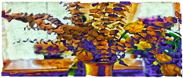 Flowers Art Print featuring the photograph Colored Memories by Madeline Ellis
