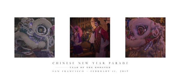 Chinese New Year Art Print featuring the photograph Chinese New Year 2017 by Chad Tracy